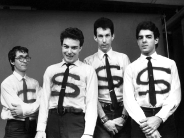 KLAUS FLOURIDE, JELLO BIAFRA, EAST BAY RAY AND BRUCE SLESINGER OF THE DEAD KENNEDYS