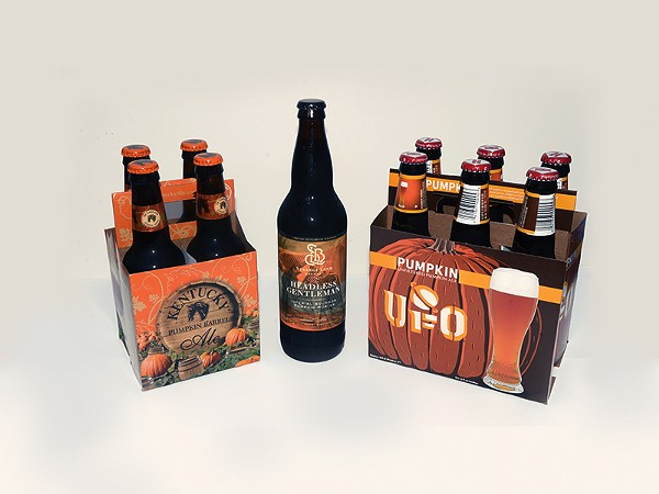 Pumpkin beer hit shelves in August ... is there any left? - BRYAN RINDFUSS