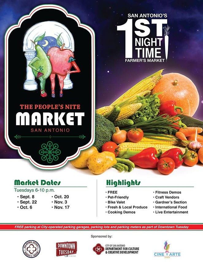 The People's Nite Market - COURTESY