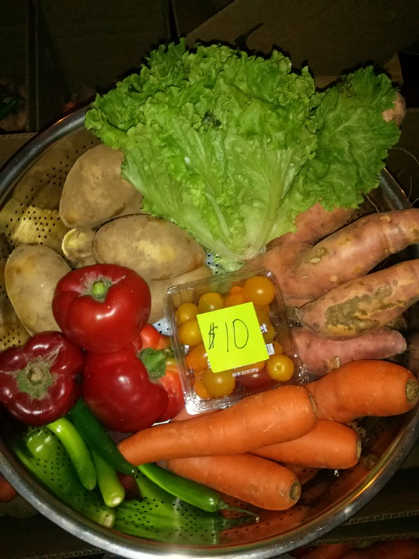 A sampling of the CSA put together by Lopez and Hernandez. - COURTESY