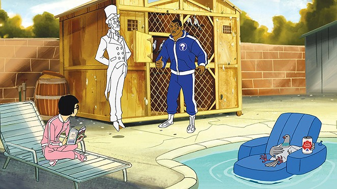 Mike Tyson's Mysteries, one of Adult Swim's sillier series - COURTESY