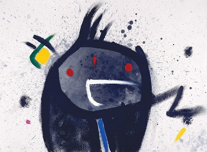 Joan Miró, Head, Bird, 1977 - COURTESY OF MUSEO NACIONAL CENTRO DE ARTE REINA SOFÍA