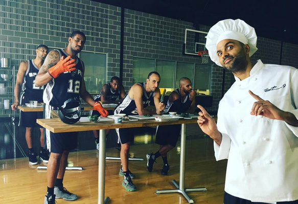 TONY PARKER/INSTAGRAM