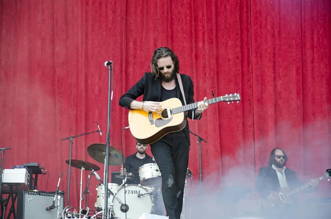 Father John Misty on day two of ACL's second weekend - JAIME MONZON