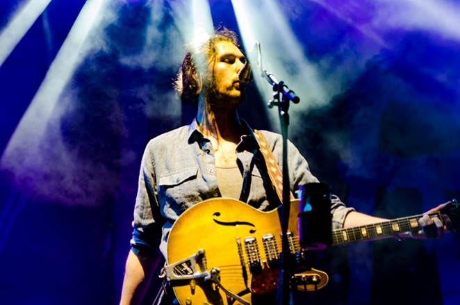 Hozier, doesn't rhyme with poser - JAIME MONZON
