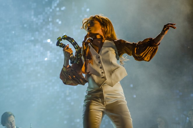 Florence + The Machine - just wishing she was celeb crush Jenny Lewis - JAIME MONZON