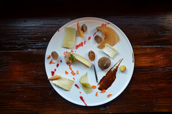 Snack attack! Cheeseboards for when night cheese doesn't cut it any more. Start with Brigid's cheese masterpiece. - BRYAN RINDFUSS