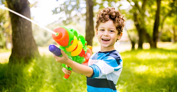 Some Texas students can carry concealed handguns on campus, but water guns? Not so much.