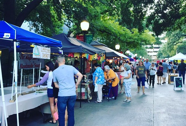Find the People's Nite Market at La Villita next Tuesday. - COURTESY
