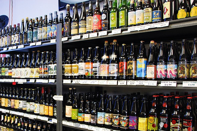 Find out which shops have the best, most unlikely selection in town. - GABBY MATA