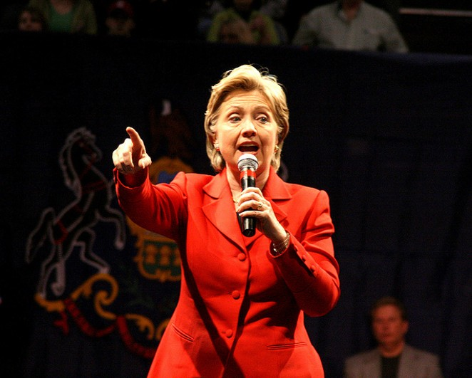 Hillary Clinton will hold a rally in San Antonio on Thursday. - VIA PENN STATE (FLICKR CREATIVE COMMONS)