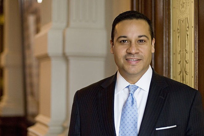 State Rep. Jason Villalba sent a tweet linking a statement of Sen. Bernie Sanders' to the Nazis. - VIA WIKIMEDIA COMMONS