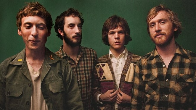 The Nashville quintet combine folk-rock and country - COURTESY