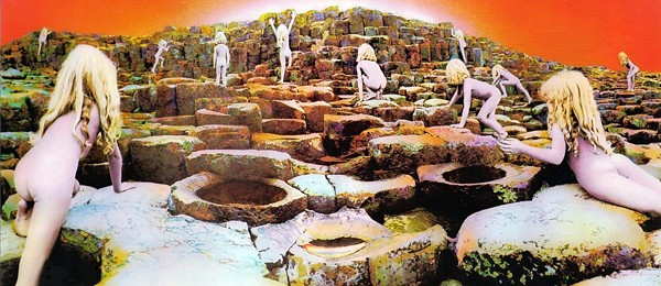 Led Zeppelin's Houses of the Holy album cover, featuring Robert Plant's children - COURTESY