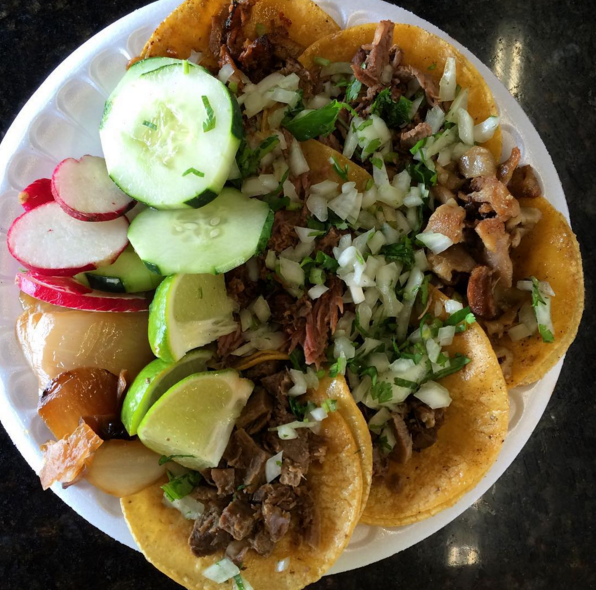 A plate from Taquitos West - JESSICA ELIZARRARAS