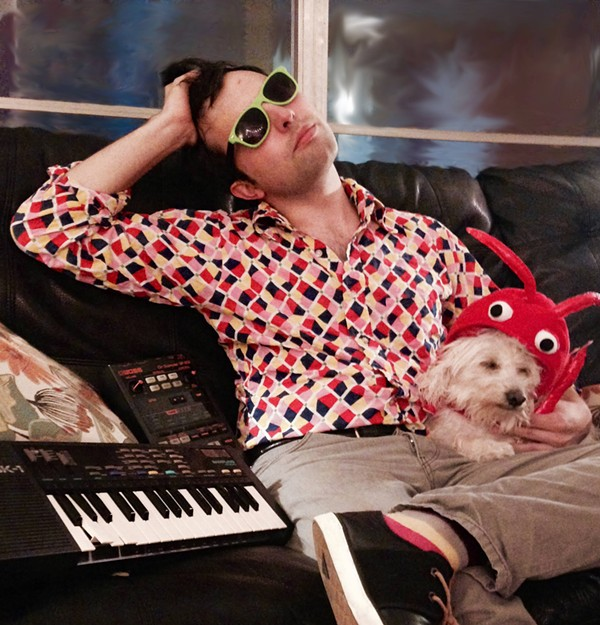 Rubio and lobster-dog - VIA FACEBOOK