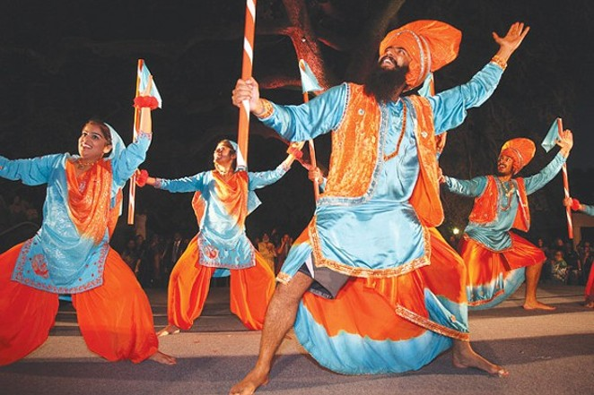 Dancers from Punjab, India, perform during 2012's celebration. - CITY OF SAN ANTONIO | COURTESY