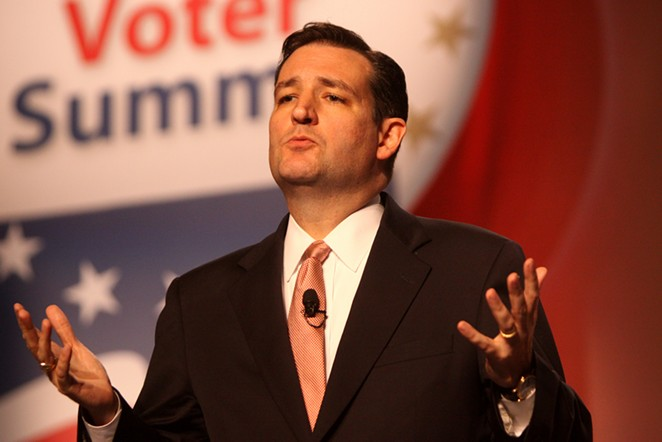Cruz, looking so hip and urban all of a sudden. - FLICKR