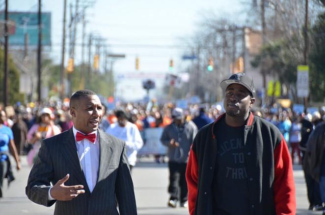 2015 Martin Luther King, Jr. Day March - ALBERT SALAZAR