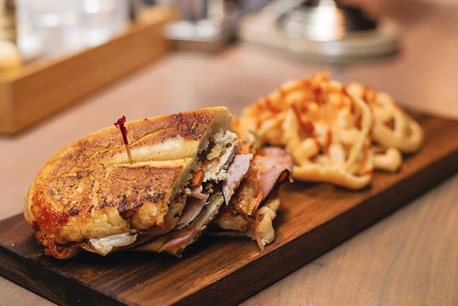The Last Word's smoky take on the Cubano - DAVID RANGEL