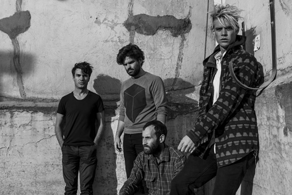 Viet Cong, who now are not Viet Cong but are listed as playing at FFF under the name Viet Cong. How very post-modern - COLIN WAY