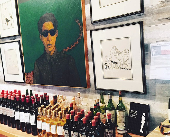 The wines at this boutique joint are worth the drive. - COURTESY