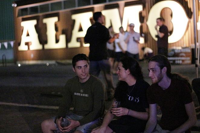 Alamo Beer is helping raise the barre. - IAN WARDZINSKI