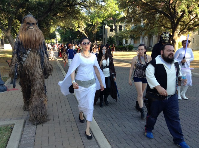 The San Antonio Wookie Walk is a month away. - FILE PHOTO