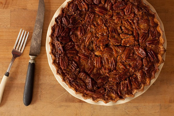 Liberty Bar's pecan pie. - COURTESY