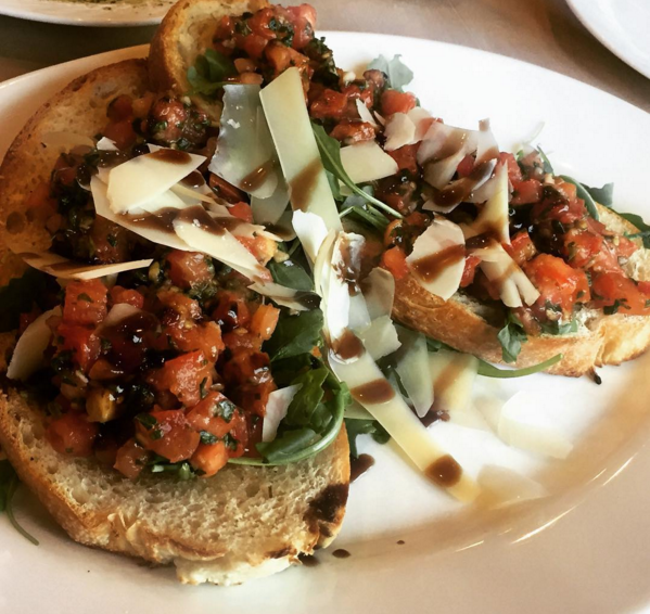 This Bruschetta is a beauty. - WANDER.EATS/ INSTAGRAM