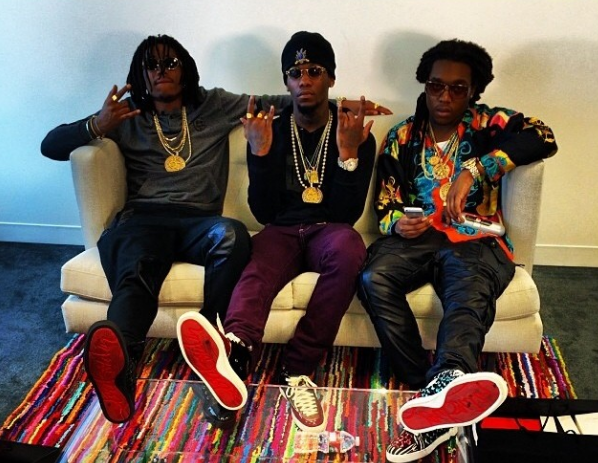The trio of Quavo, Offset and Take Off - WIKIMEDIA