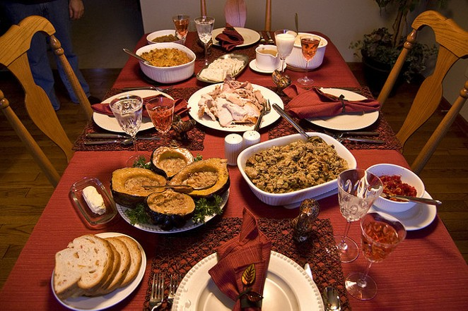 The origins of the annual feast might be from Texas. - FLICKR CREATIVE COMMONS