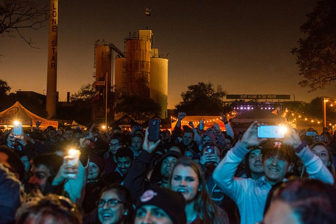 Lone Star Brewery was the site for San Antonio's first Untapped Festival this weekend. - JAIME MONZON