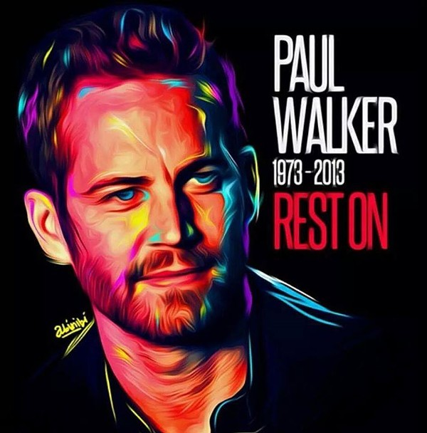 Rest On, Paul Walker - COURTESY