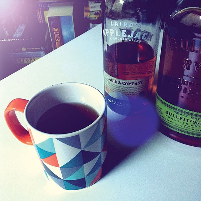 The hot toddy is a seasonal classic. - JESSICA BRYCE YOUNG