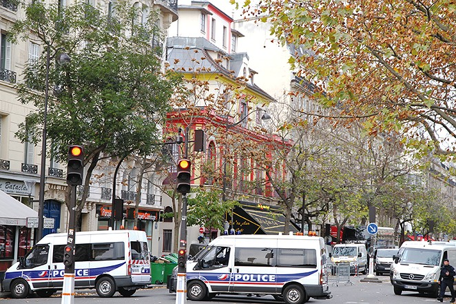 This photo shows the Bataclan in Paris a day after Islamic State maniacs massacred more than 100 people in France. - COURTESY