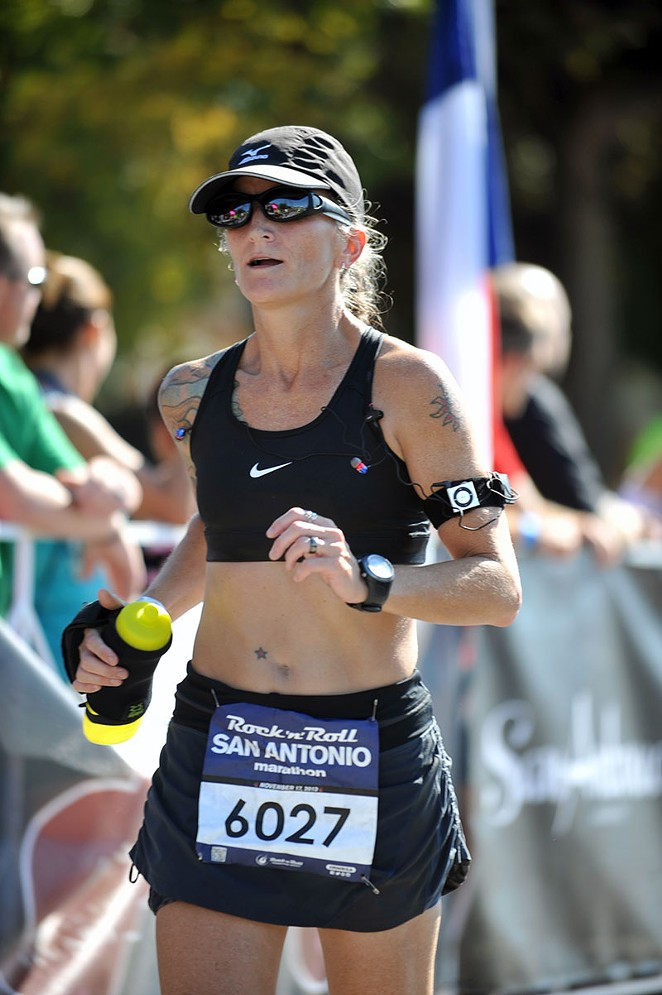 Personal trainer and certified running coach Kimberly Aubuchon had no idea that physical fitness would become any more than a way to lose weight. - COURTESY