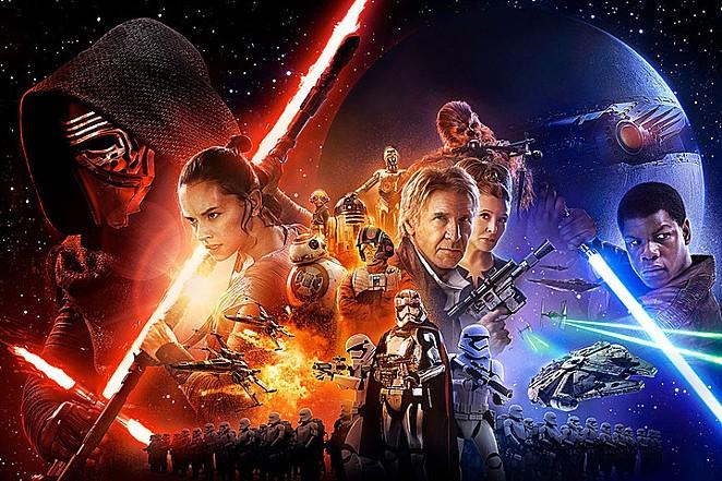 Official Star Wars: The Force Awakens poster artwork by Drew Struzan. - DREW STRUZAN/LUCASFILM