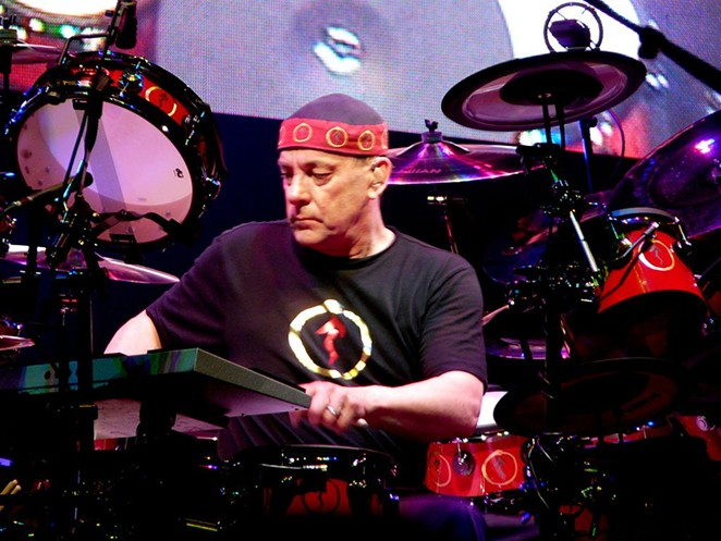 One of the few drummers in the world that can own a 40-piece kit and not be totally lambasted as a complete, useless nerd. - WIKIPEDIA