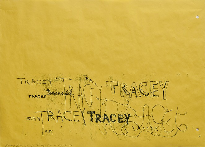 Tracey Emin, Tracey Tracey Tracey - COURTESY