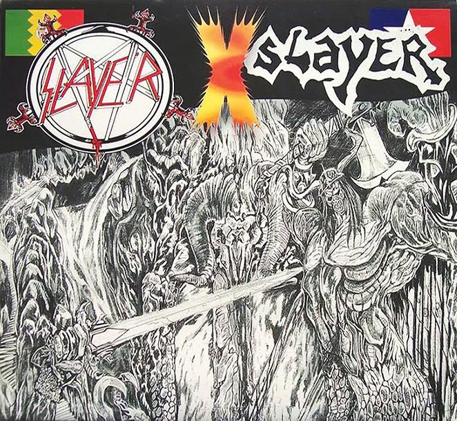 The infamous Slayer vs. Slayer bootleg.