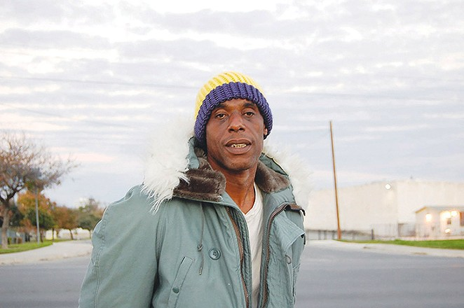 Foster Hines, a resident at Haven for Hope. - PHOTO BY MICHAEL MARKS