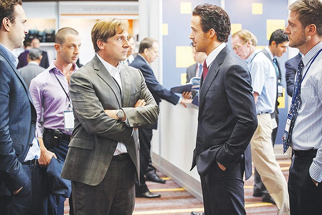 Steve Carell gets serious in The Big Short.