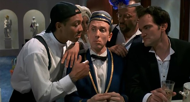 Tim Roth as bumbling bellboy in Four Rooms - VIA FACEBOOK