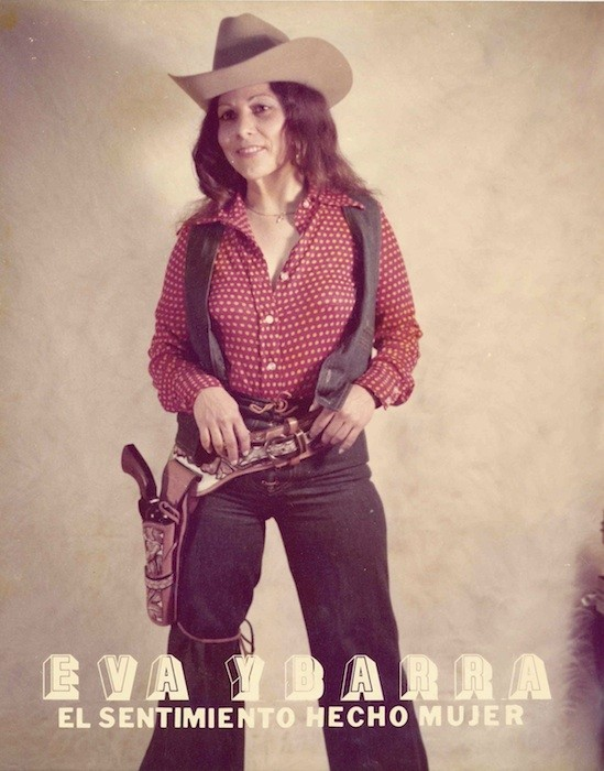 Eva Ybarra in a promotional poster from the '70s - COURTESY