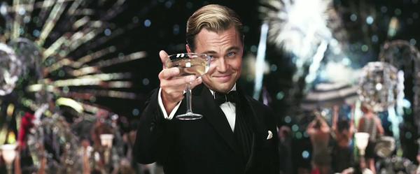 Leonard DiCaprio as Gatsby - COURTESY