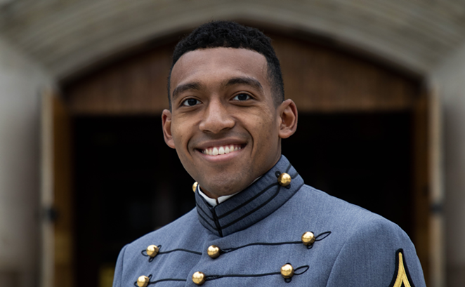 San Antonio local Tyrese Bender was named an awardee of the prestigious U.S. Rhodes Scholarship. - COURTESY WEST POINT MILITARY ACADEMY