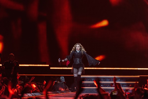 The 57-year-old proving age, for Madonna, is just a number ... like 69 - JAIME MONZON
