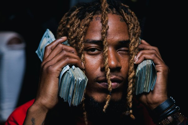 Fetty Wap, listening to the paper - VIA FACEBOOK