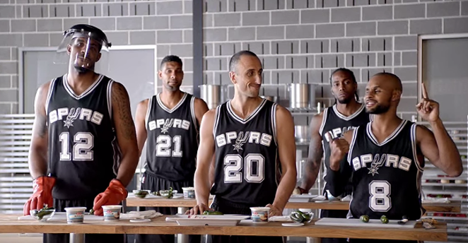 The Spurs are cooking. - YOUTUBE SCREENSHOT